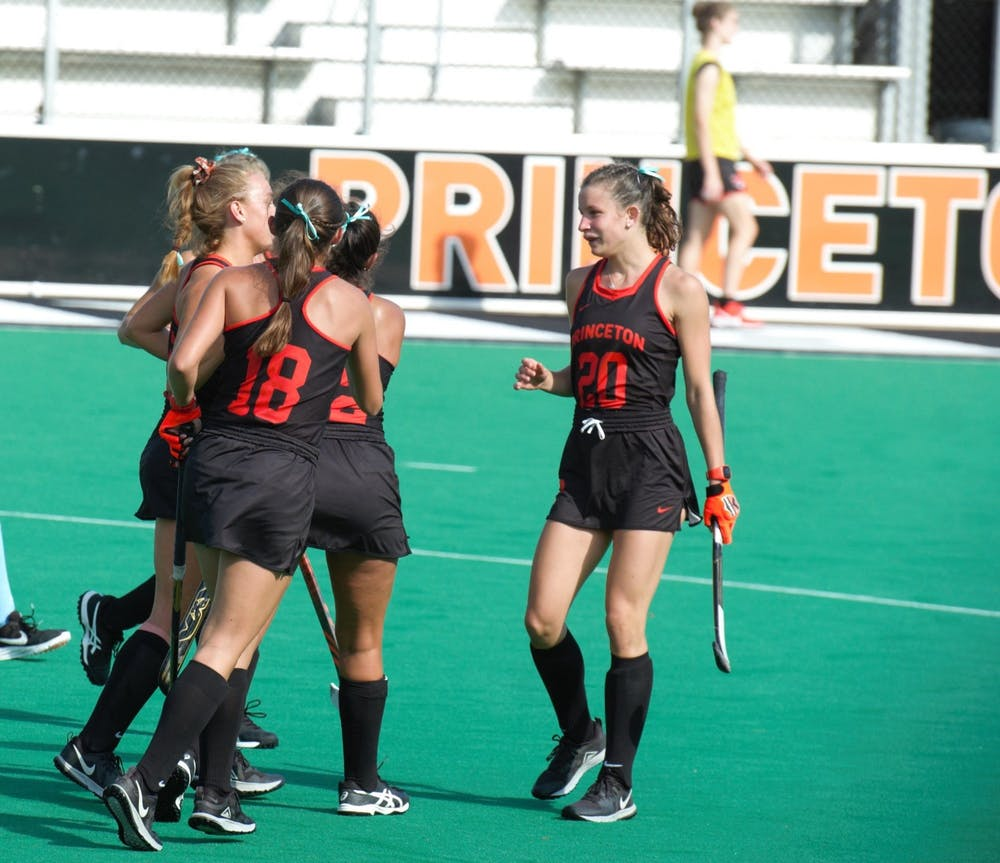 Princeton field hockey lost in the national championship game to North Carolina. Photo Credit: Jack Graham / The Daily Princetonian