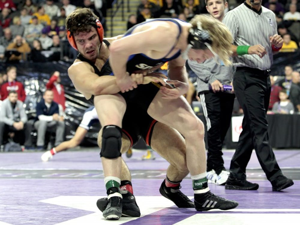Matthew Kolodzik won his match in wrestling's victory over Penn