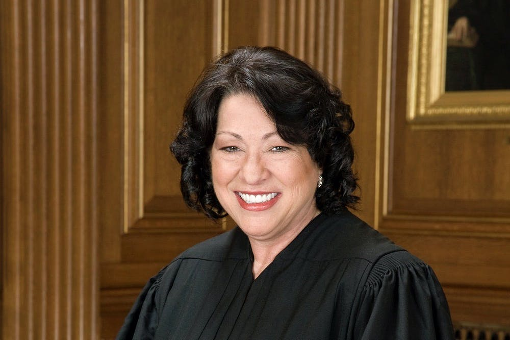 """<h5>Supreme Court Justice Sonia Sotomayor '76 sat for an official portrait in 2009.</h5> <h6>Courtesy of Supreme Court of the United States <a href=""""https://www.supremecourt.gov/about/biographies.aspx"""" target=""""_self"""">website</a></h6>"""