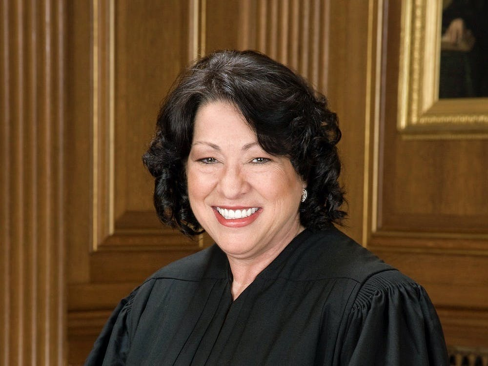 Supreme Court Justice Sonia Sotomayor '76 sat for an official portrait in 2009. Courtesy of Supreme Court of the United States website