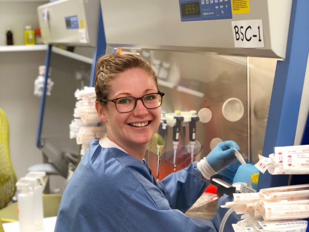 Brittany Adamson, Assistant Professor in the Department of Molecular Biology and the Lewis-Sigler Institute for Integrative Genomics. Photo Credit: Britt Adamson
