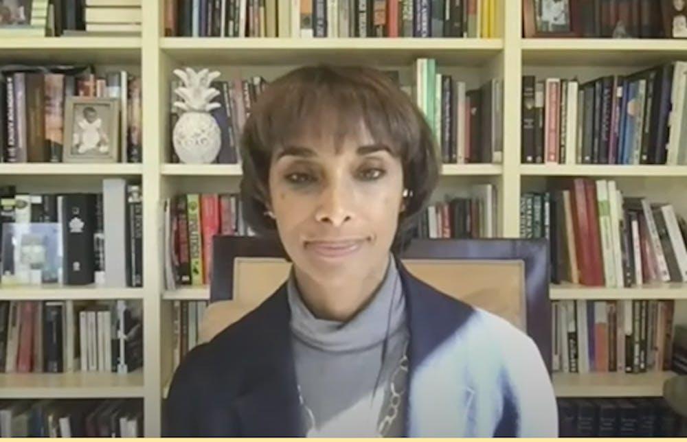 <h5>Dean Cecilia Rouse at the virtual hearing.&nbsp;</h5> <h6>Karolen Eid / The Daily Princetonian&nbsp;</h6>