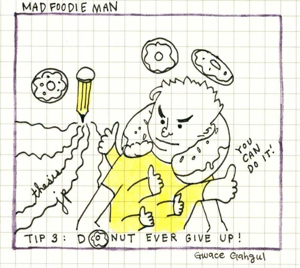 Mad Foodie Man - Donut