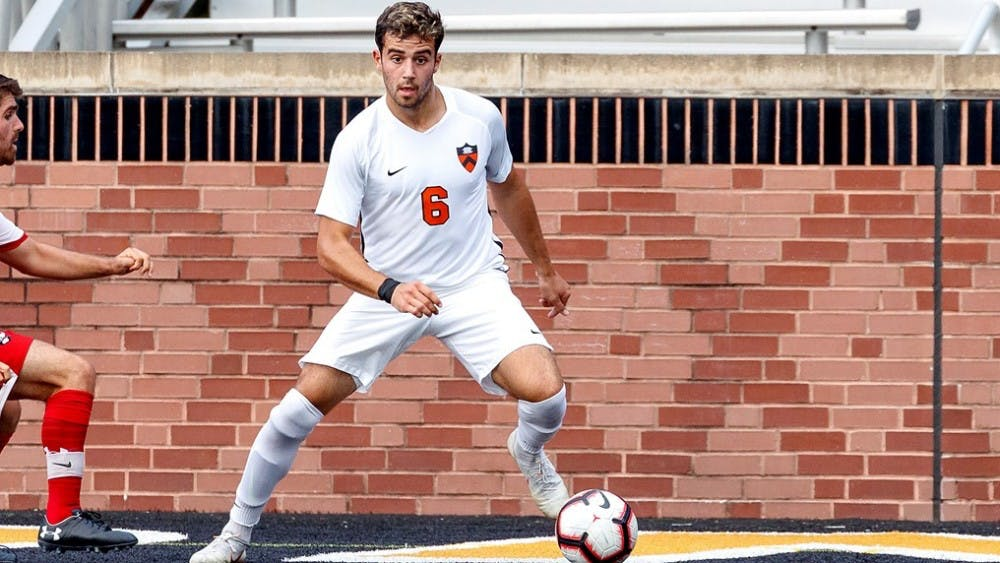 Sophomore Kevin O'Toole - winner of the Ivy League POY Honors - was held scoreless during regulation in the loss to Michigan.
