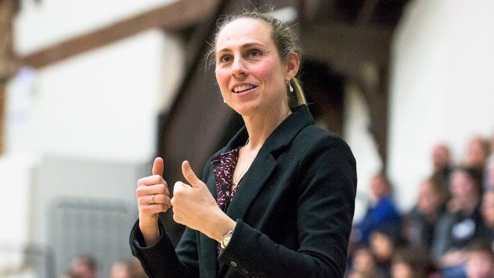 <p>Head women's basketball coach Carla Berube.</p> <p>Photo courtesy of Tufts University.</p>