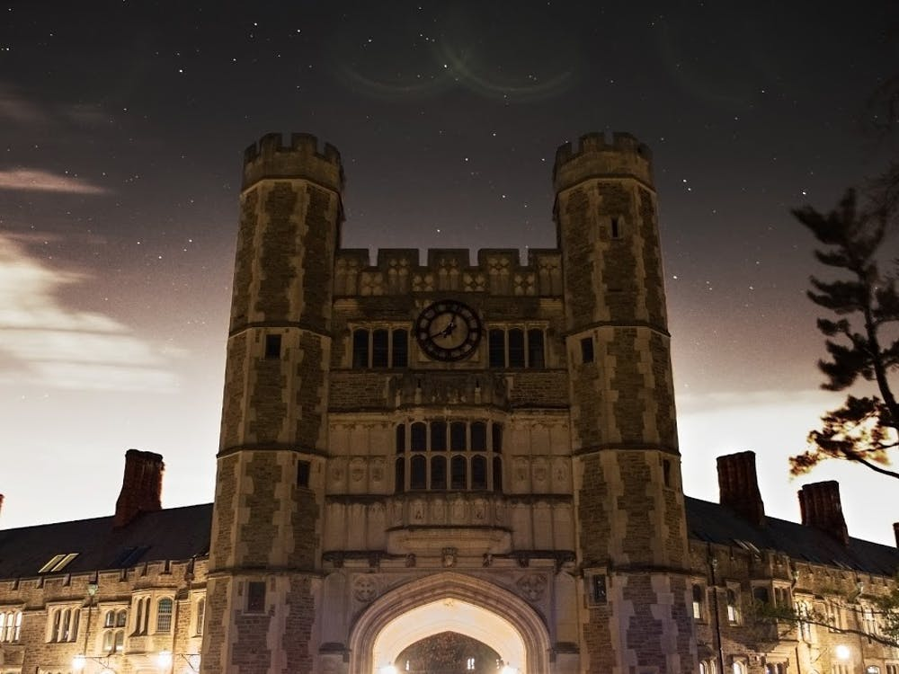 Blair Arch at night Candace Do / The Daily Princetonian