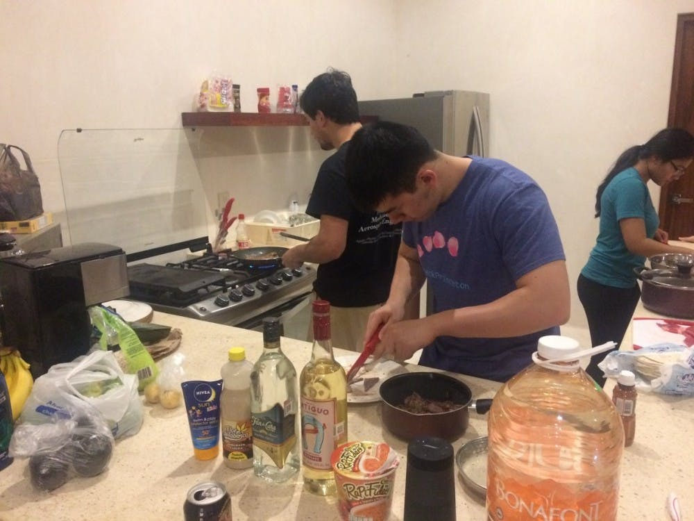 Group cooking