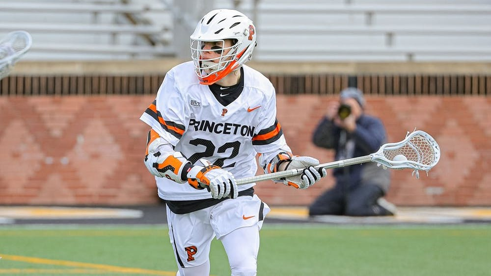 <p>The University's announcement affects the Princeton eligibility of seniors such as men's lacrosse captain Michael Sowers.&nbsp;</p> <h6>Shelley M. Swazst / goprincetontigers.com</h6>