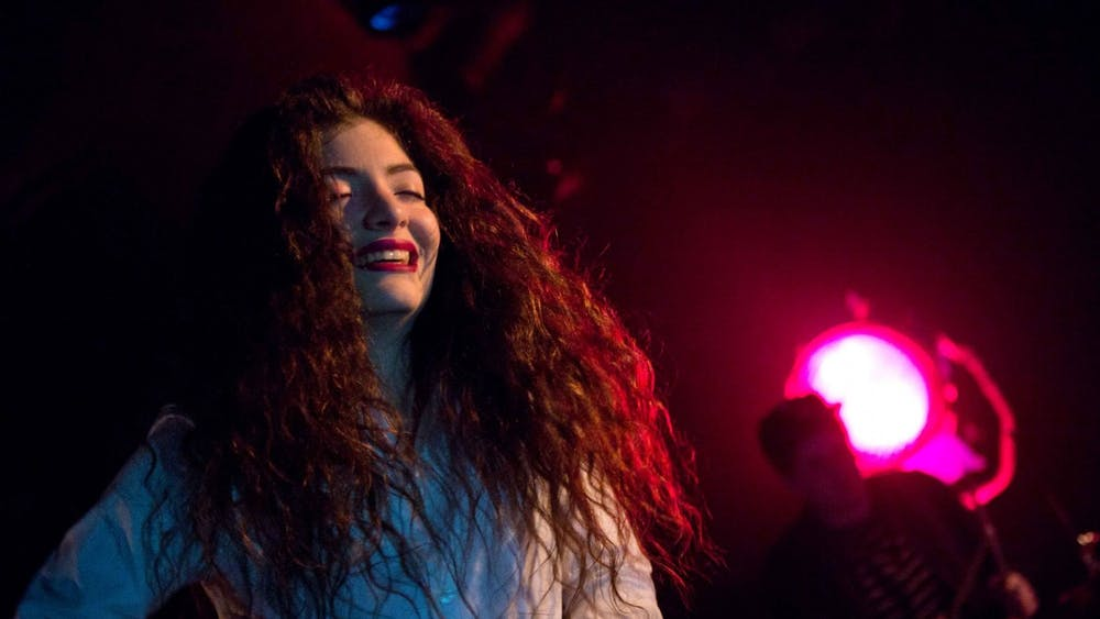 """Lorde performs on Sept. 28, 2013 at Showbox at the Market during the Decibel Festival in Seattle, Wash. """"Lorde in Seattle 2013 - 2"""" by Kirk Stauffer / CC BY-SA 3.0"""