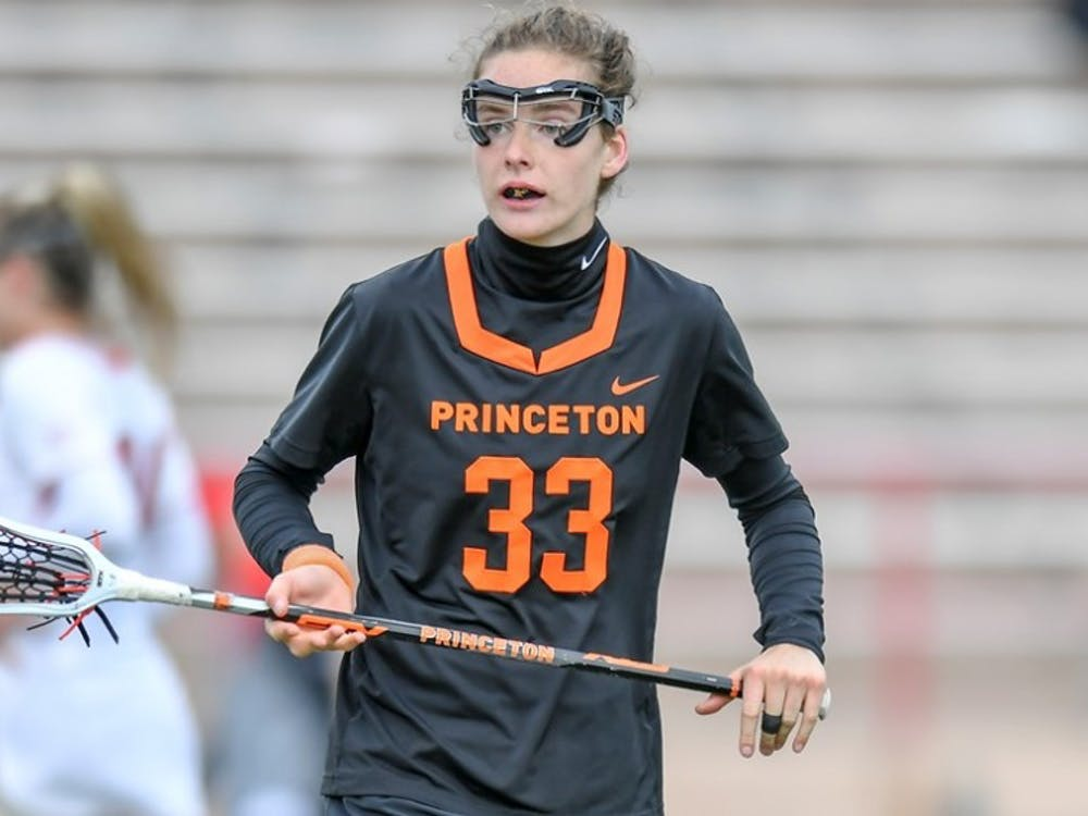 Sophomore defender Marge Donovan was named Ivy League Defensive Player of the Week after her performance against Cornell. Photo Credit: GoPrincetonTigers