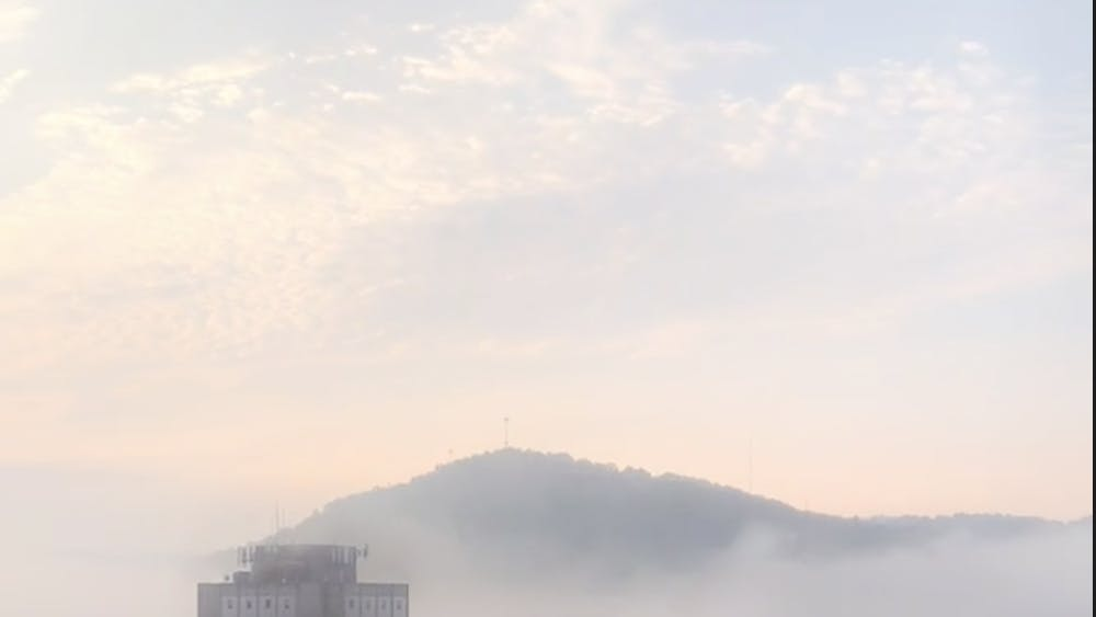 The morning view of Morehead, Kentucky from my dormitory window. AG McGee / The Daily Princetonian