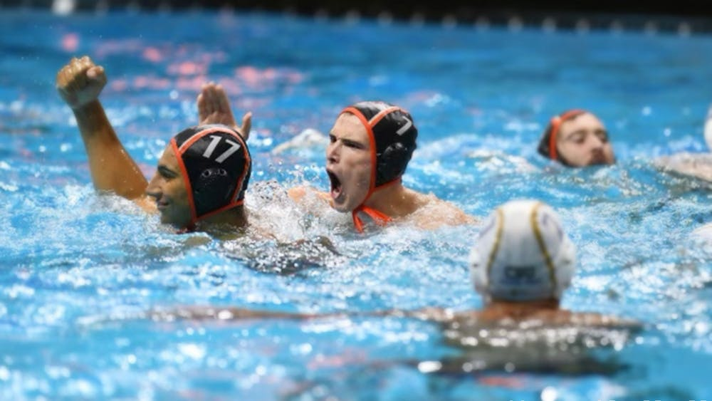 """<h5>Juniors Yurian Quinones (left) and Keller Maloney (right) scored in Saturday's home game against Harvard.</h5> <h6>Nicole Maloney / <a href=""""https://goprincetontigers.com/"""" target=""""_self"""">GoPrincetonTigers</a></h6>"""