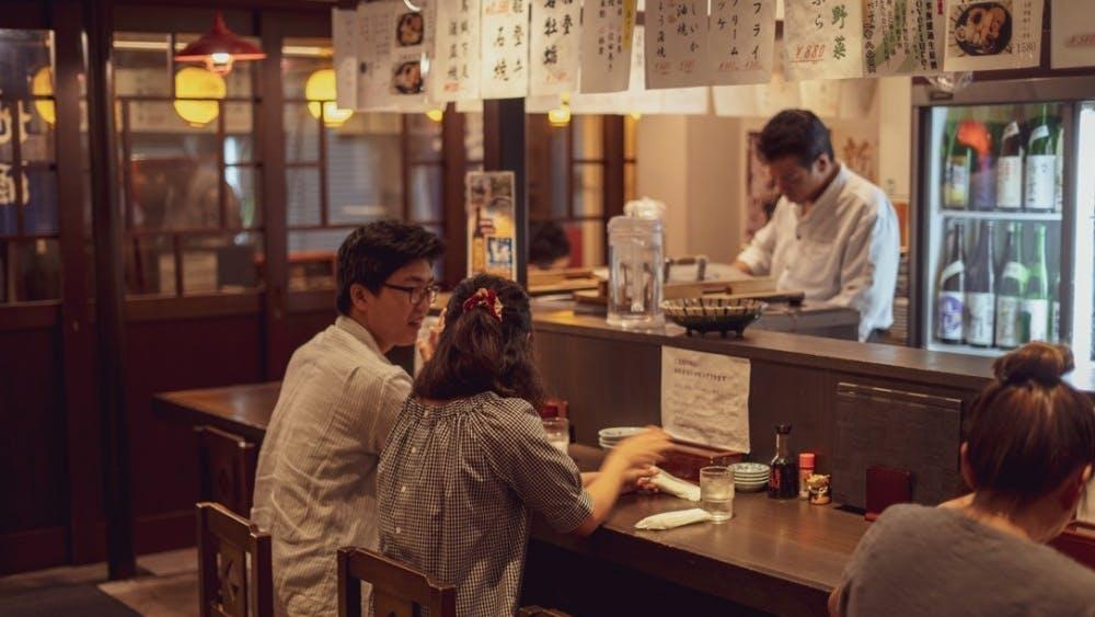 Sushi Restaurant in the Omicho Fish Market, Kanazawa, Ishikawa prefecture in Japan. Photo Courtesy of Everett Shen