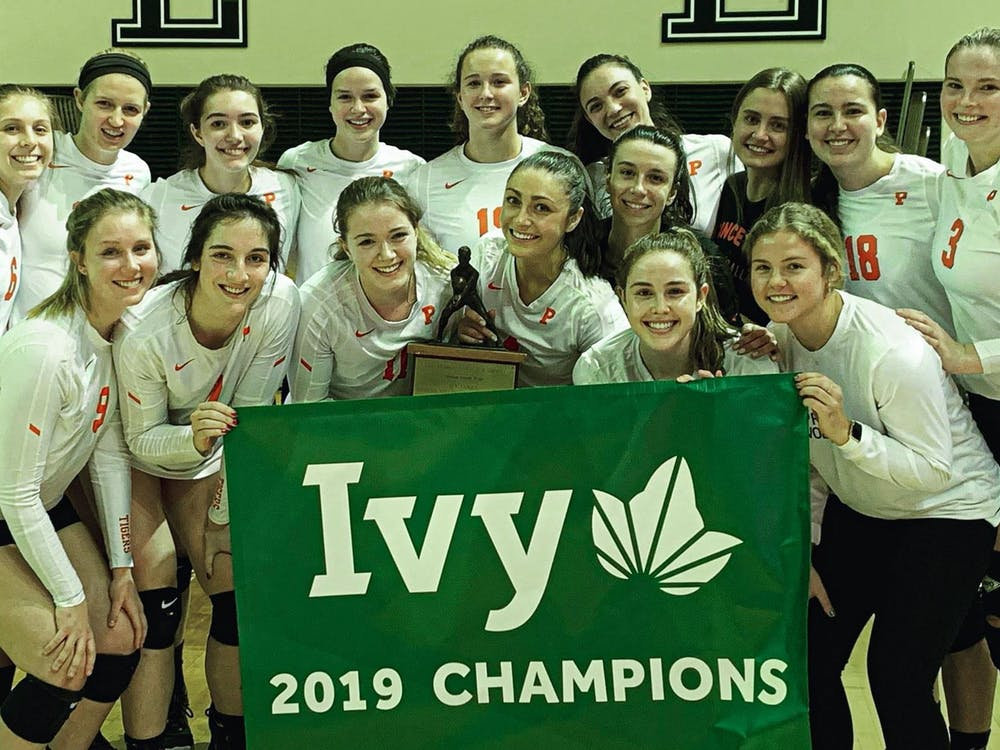 Princeton women's volleyball earned a share of the Ivy title this year. Photo Courtesy of GoPrincetonTigers.com