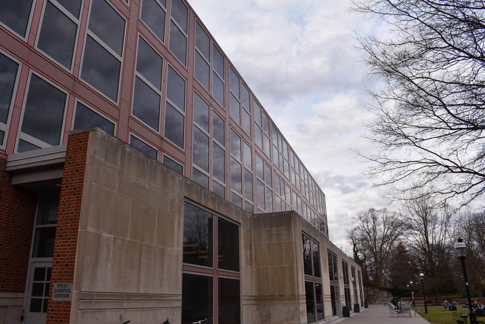 <h5>Frist Campus Center</h5> <h6>Mark Dodici / The Daily Princetonian</h6>