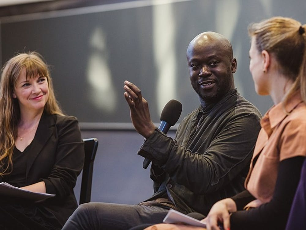 David Adjaye, the architect of the new Princeton University Art Museum. Courtesy of Wikimedia Commons.