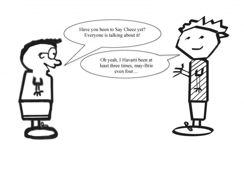 Saying Cheez