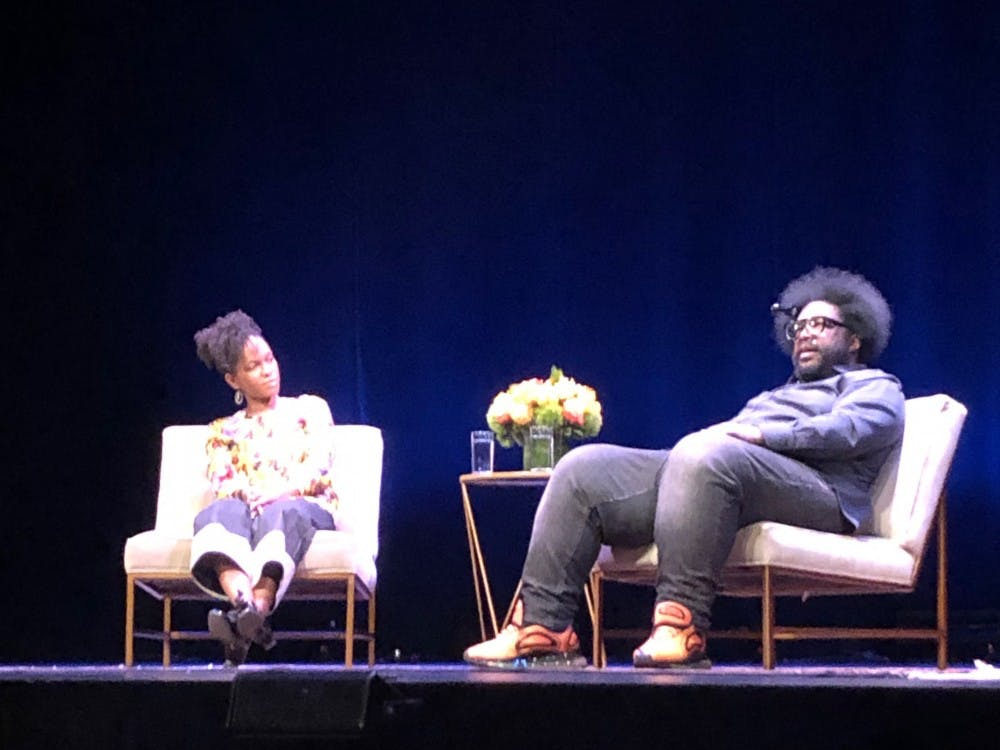 Professor Imani Perry and Questlove speak about creativity on Friday, Feb. 15.