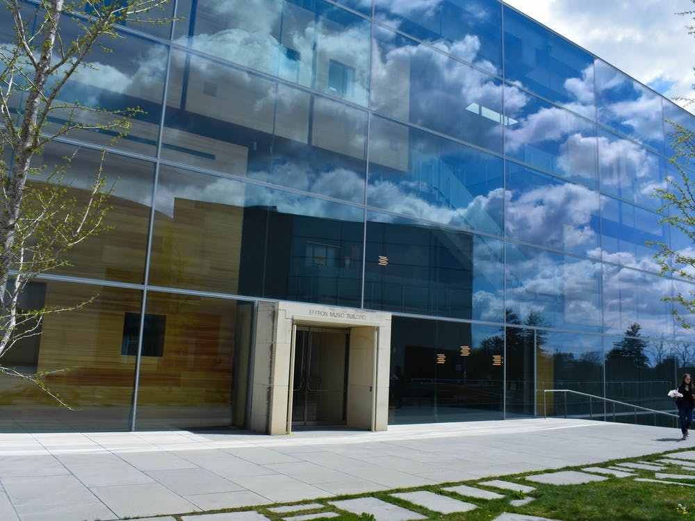 The Effron Music Building in the Lewis Center for the Arts. Mark Dodici / The Daily Princetonian