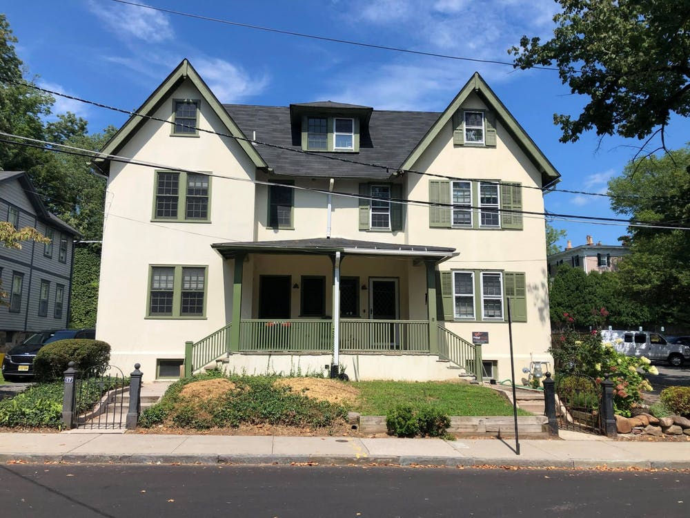 The duplex at 15 Edwards Place now belongs in full to the Chabad House. Previously, Chabad occupied only half of the structure. Courtesy of Scharf Family Chabad House