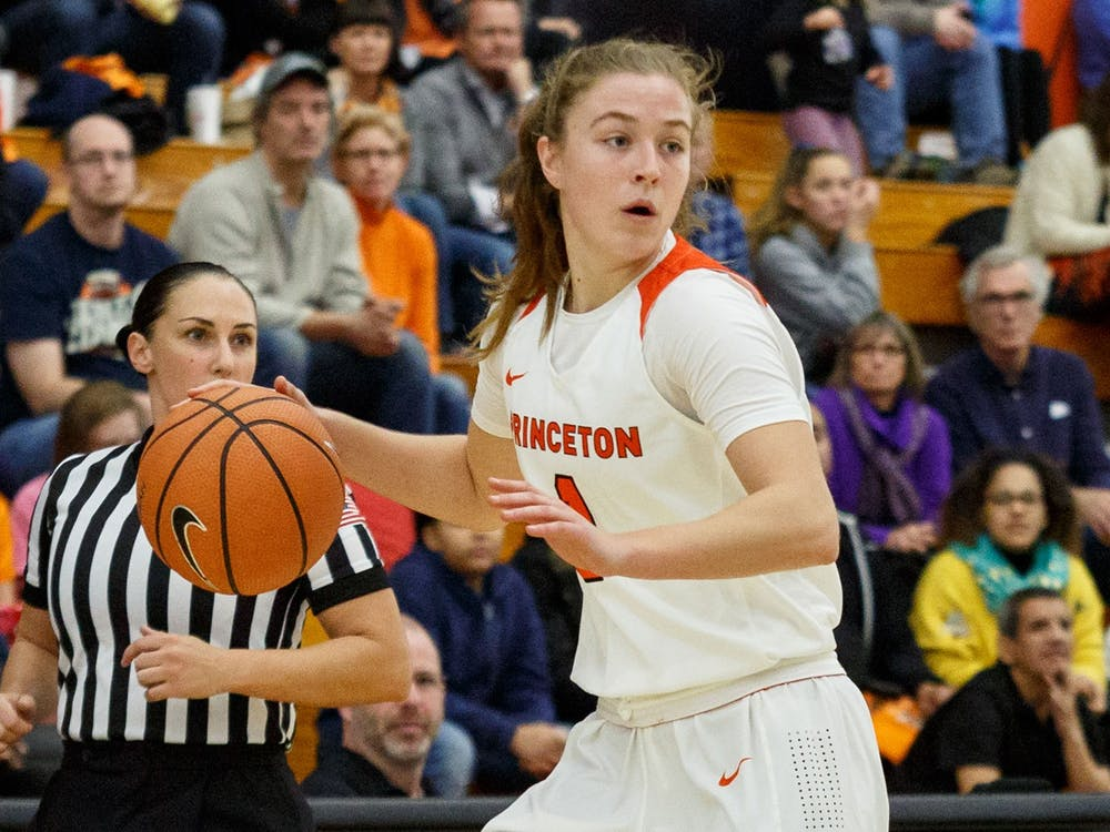 Abby Meyers scored a season-high 17 points against St. Francis Brooklyn. Photo Credit: Beverly Schaefer / GoPrincetonTigers