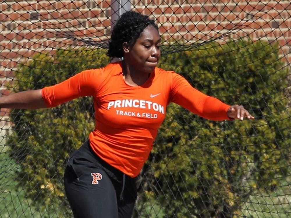 Ivy League record-holder, sophomore Obiageri Amaechi, will aim for a title this weekend. Photo Credit: GoPrincetonTigers