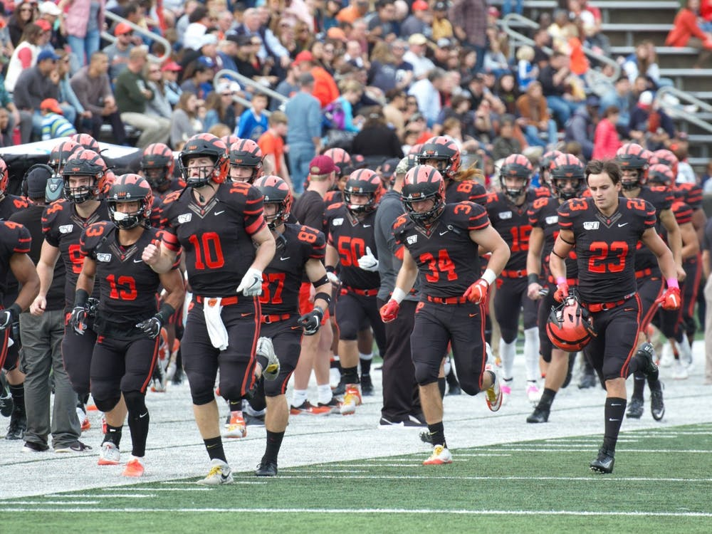 The football team will face a radically altered season. Jack Graham / The Daily Princetonian