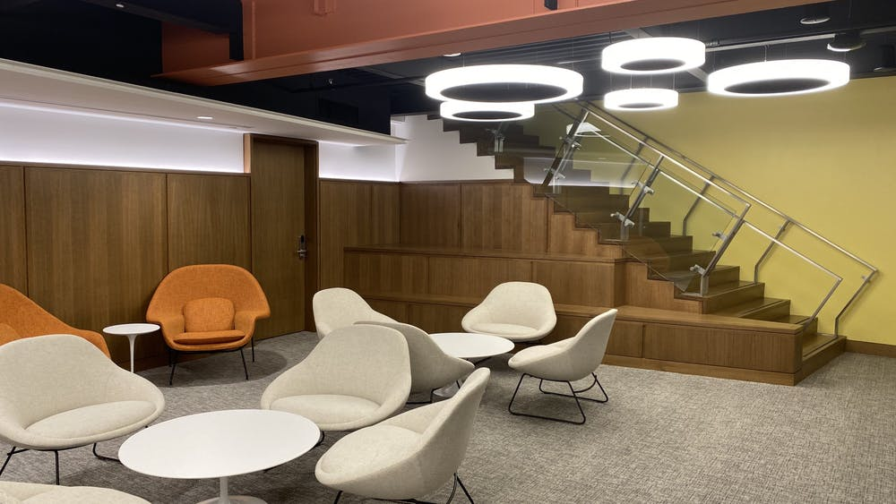 The Undergraduate Admissions Visitor Center will officially open on Monday. Photo Credit: Zachary Shevin / The Daily Princetonian