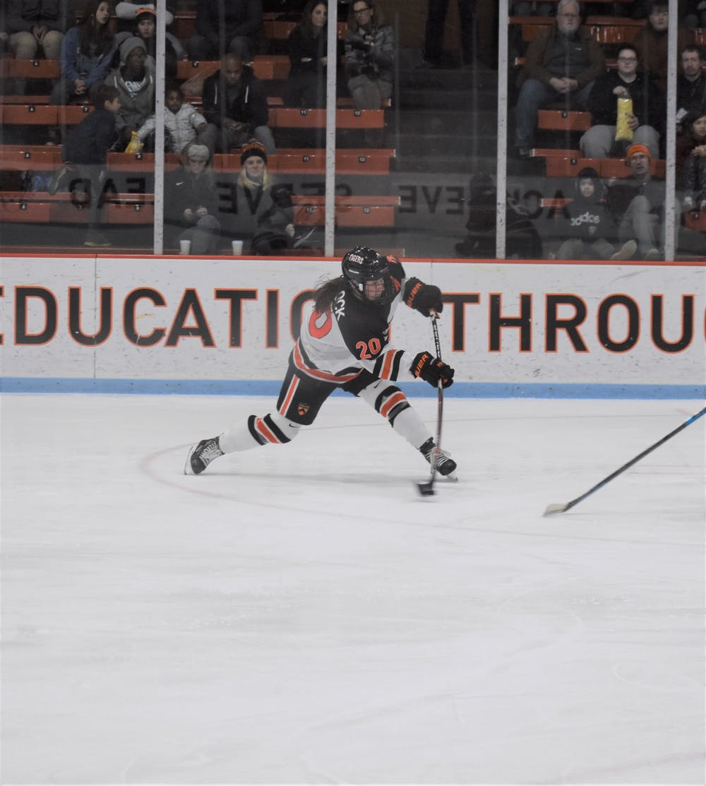 Women's hockey defeats Union and RPI on successful New York road-trip - The Daily Princetonian