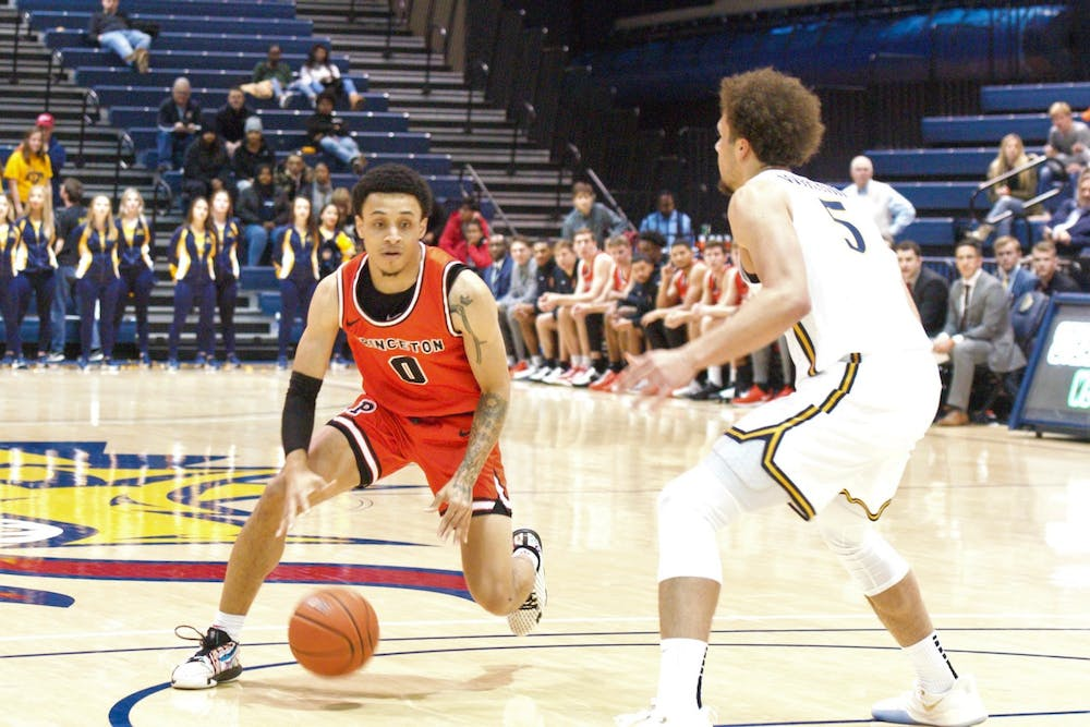 Jaelin Llewellyn scored 28 points in Princeton's loss to Drexel Wednesday night. Photo Credit: Jack Graham / The Daily Princetonian