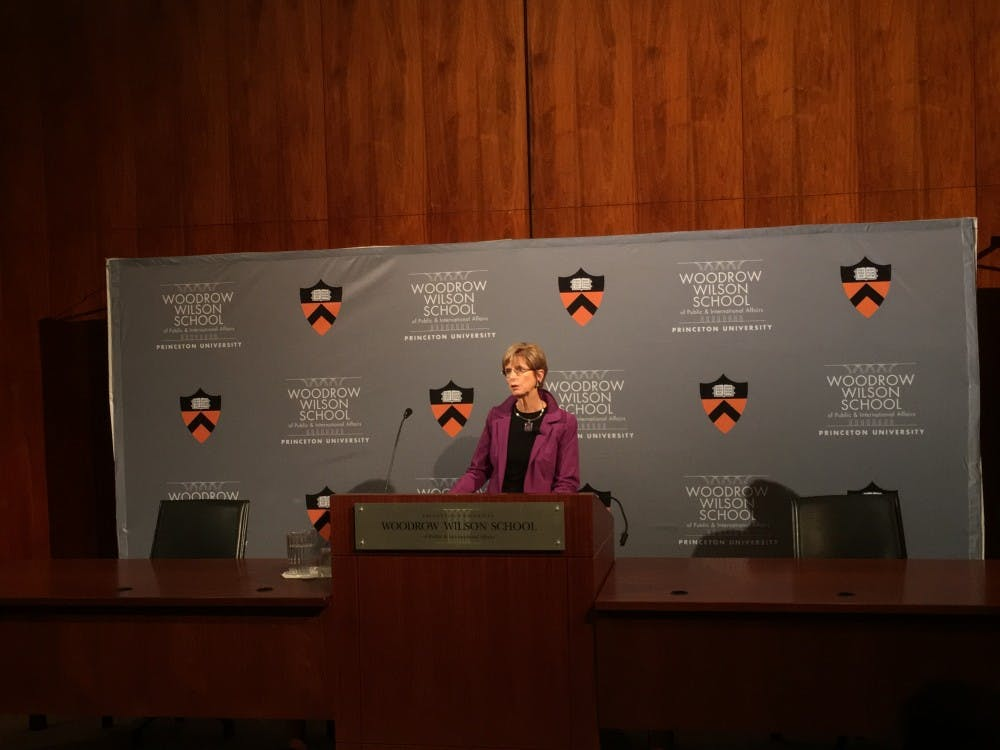 Former New Jersey Governor Christine Todd Whitman speaks about the state of American political system.