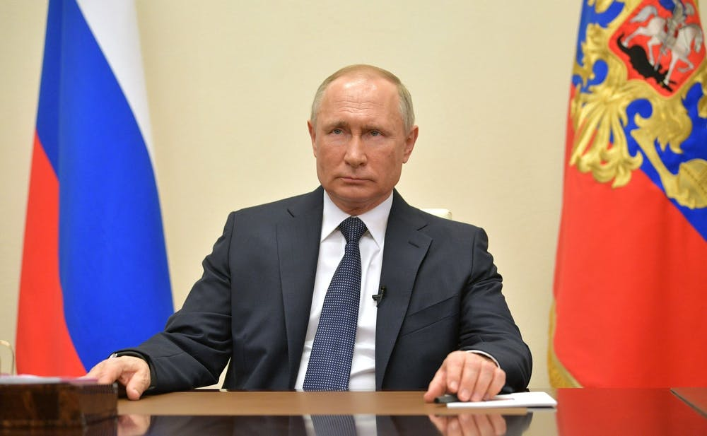 "<h6>""Vladimir Putin address to citizens"" by The Presidential Press and Information Office / <a href=""https://commons.wikimedia.org/wiki/File:Vladimir_Putin_address_to_citizens_2020-04-02.jpg"" target=""_self""><strong>CC BY 4.0</strong></a></h6>"