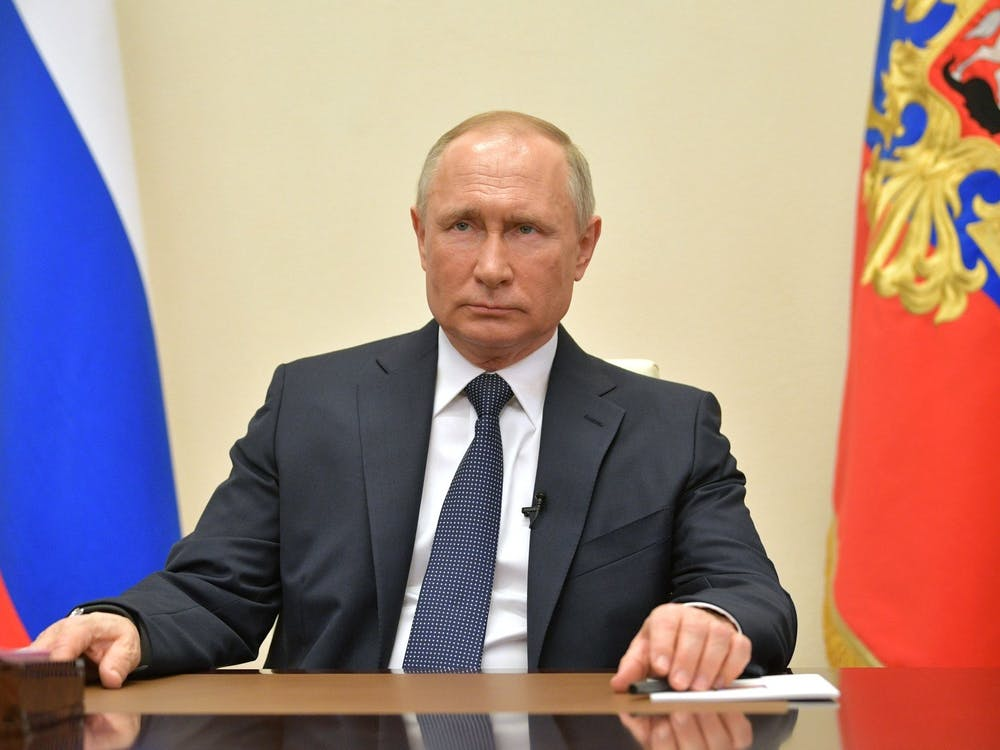 """Vladimir Putin address to citizens"" by The Presidential Press and Information Office / CC BY 4.0"