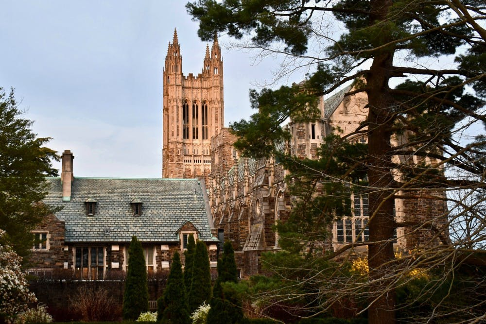 <p>The Graduate College, with Cleveland Tower.&nbsp;</p> <h6>Photo Credit: Jon Ort / The Daily Princetonian</h6>