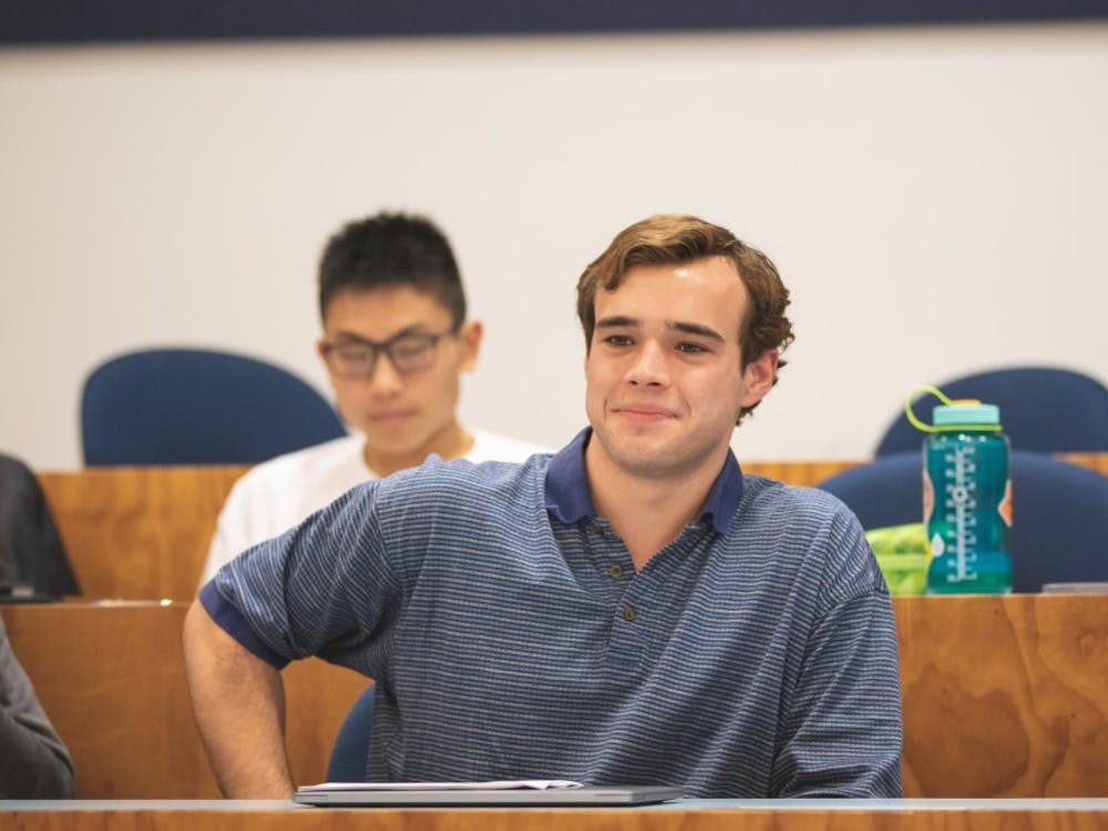 Henry Barrett '22 was approved for a U-Councilor position. Photo courtesy of Brad Spicher '20.
