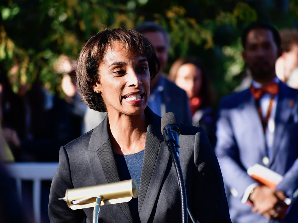 Former SPIA Dean Cecilia Rouse. Jon Ort / The Daily Princetonian