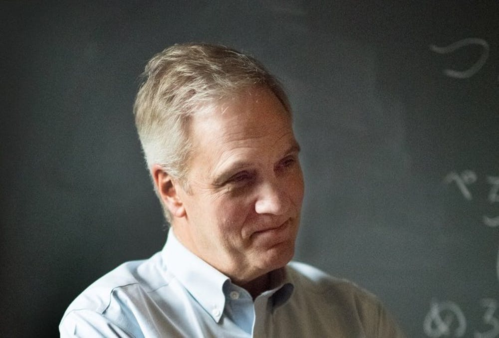 <p>Stephen Pacala, the Frederick D. Petrie Professor in Ecology and Evolutionary Biology.</p> <h6>Photo Courtesy of the Princeton Environmental Institute</h6>