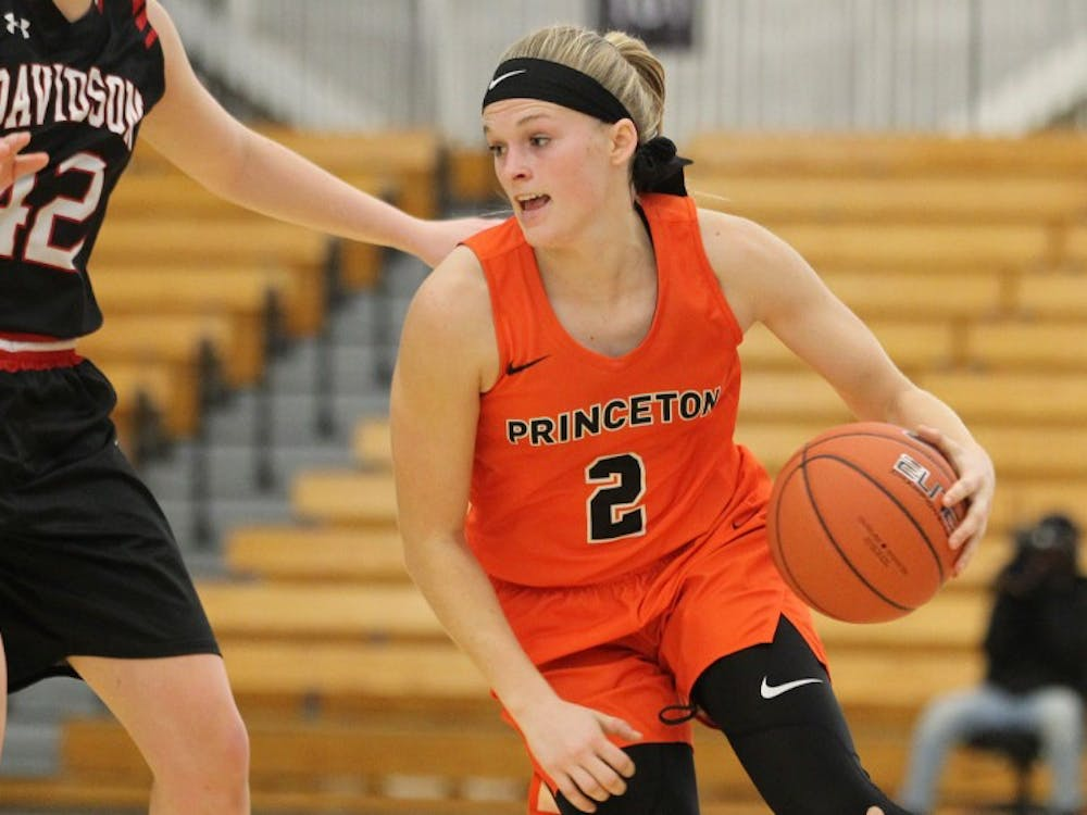 Carlie Littlefield and women's basketball continue their conference schedule this weekend against Yale and Brown