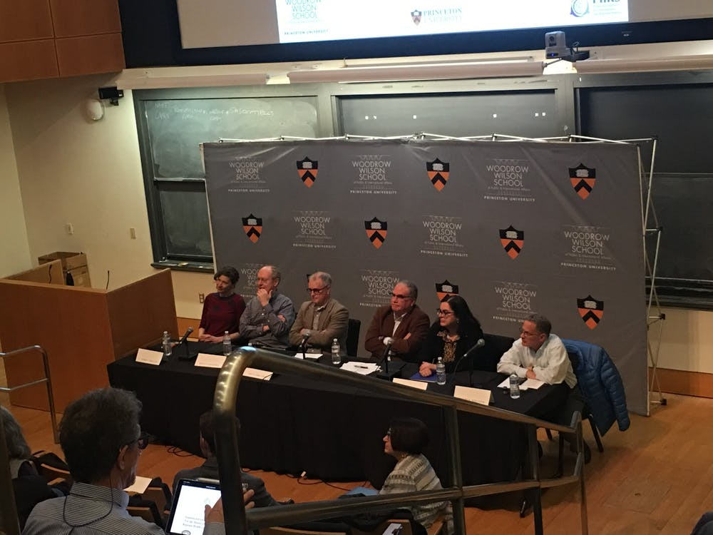 <p>The panel took place in the Friend Center.</p> <h6>Photo Credit: Karolen Eid / The Daily Princetonian</h6>
