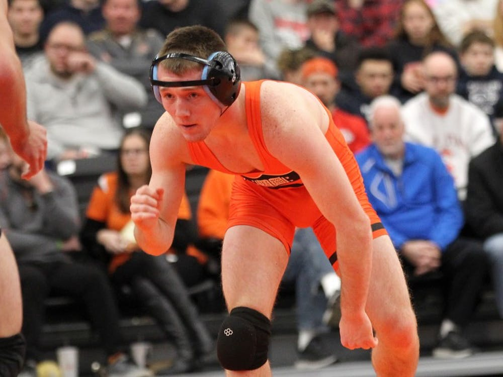 Marshall Keller was one of several Princeton first-years to earn wins over Drexel this weekend