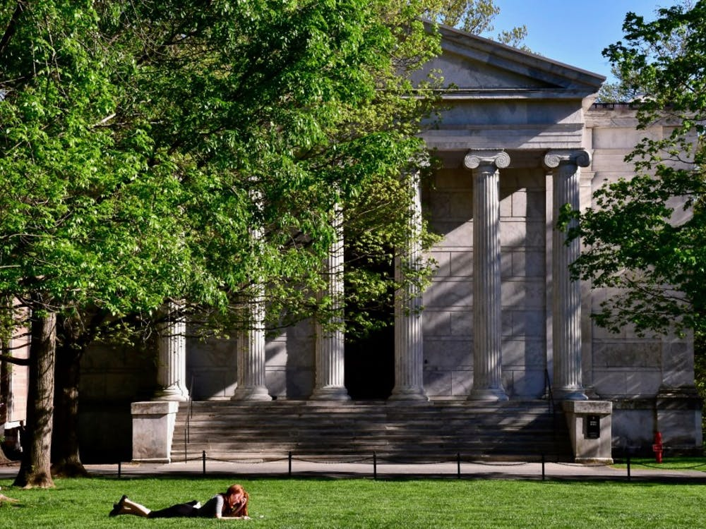 Whig Hall, the seat of political organizations on campus. Jon Ort / The Daily Princetonian