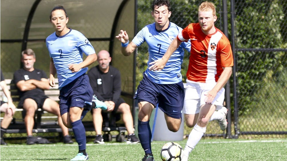 Sean McSherry scored early in men's soccer's narrow win against Columbia