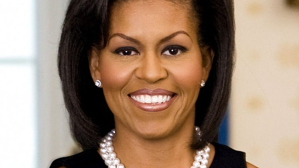 Michelle Obama '85 is one of the six individuals affiliated with the University to be elected into the American Academy of Arts and Sciences.  Joyce N. Boghosian / The White House
