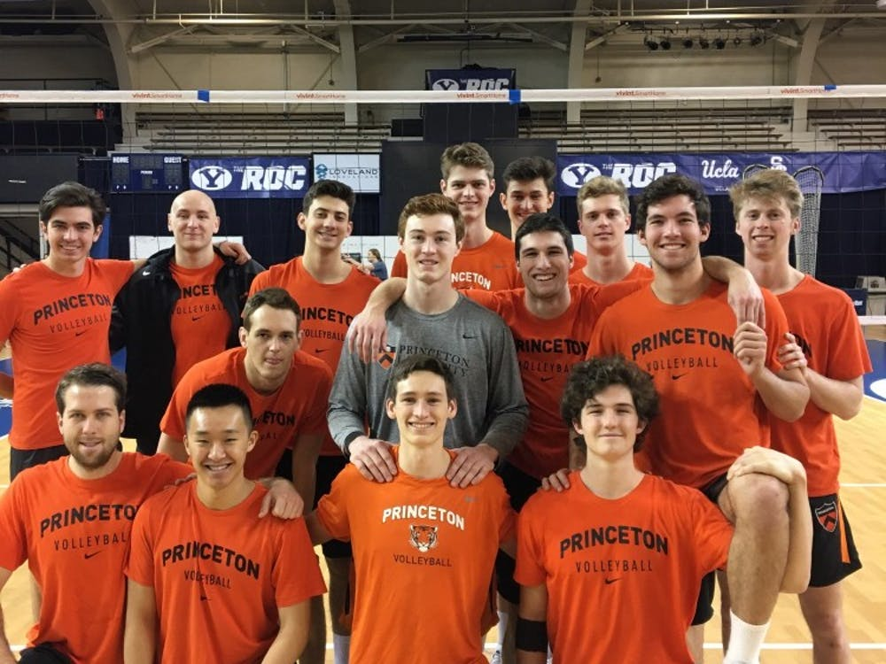 Men's volleyball at the Brigham Young University Invitational in Provo, Utah. photo credit: head coach Sam Shwelsky