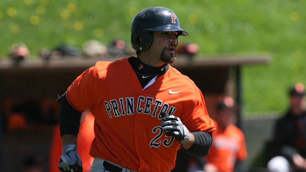 Mike Ford became Princeton baseball's seventh MLB player since the turn of the century last Thursday. Photo Credit: GoPrincetonTigers.com