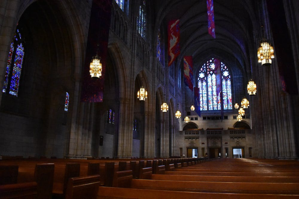 <h6>The Princeton University Chapel.&nbsp;</h6> <h6>Mark Dodici / The Daily Princetonian&nbsp;</h6>