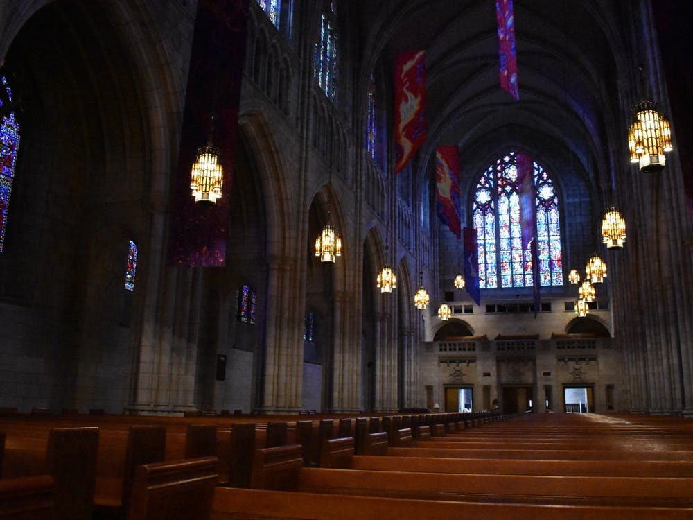 The Princeton University Chapel.  Mark Dodici / The Daily Princetonian
