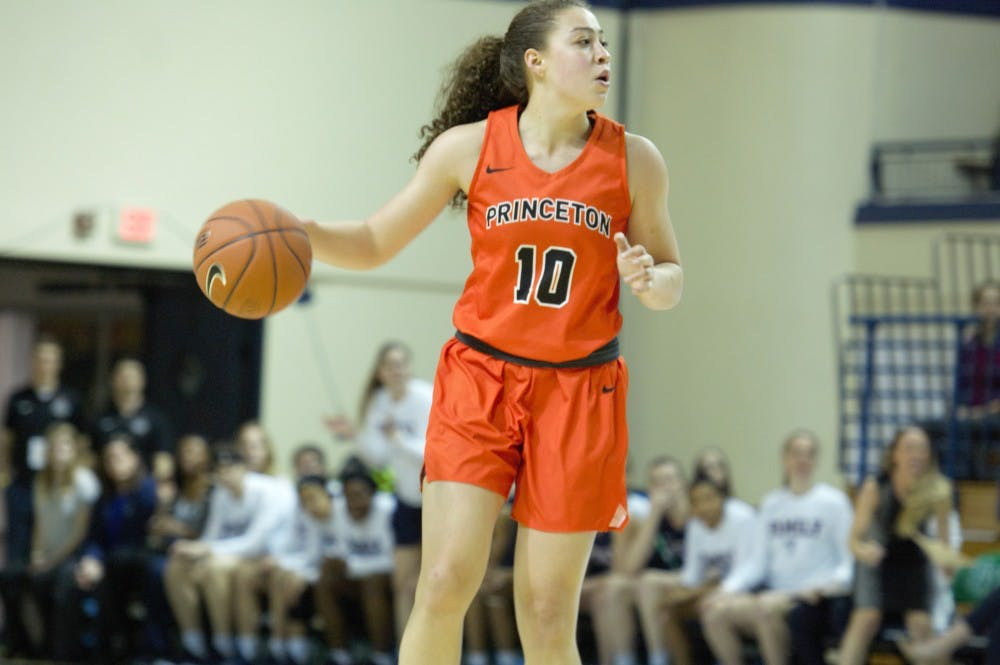 <p>First-year Grace Stone played 38 minutes in Princeton's loss to Kentucky. Photo: Jack Graham \ The Daily Princetonian</p>