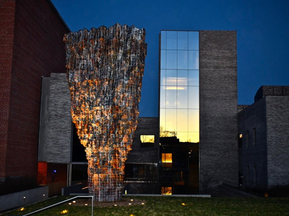 The Andlinger Center for Energy and the Environment. Jon Ort / The Daily Princetonian