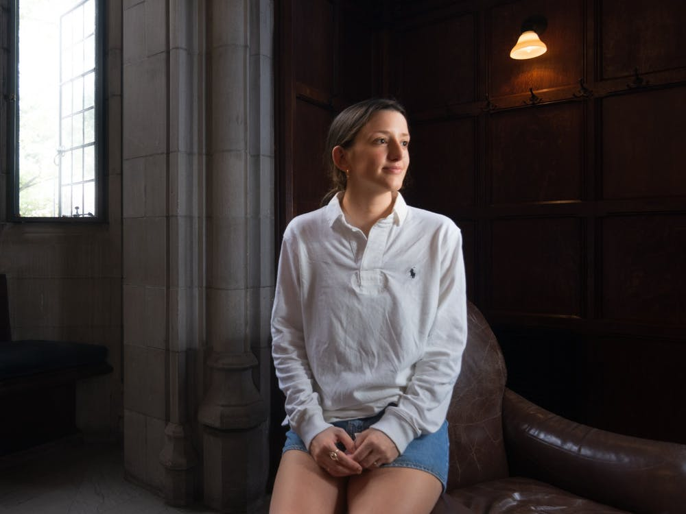 Kennedy Mattes '23, founder of the Expungement Initiative Julian Gottfried / The Daily Princetonian
